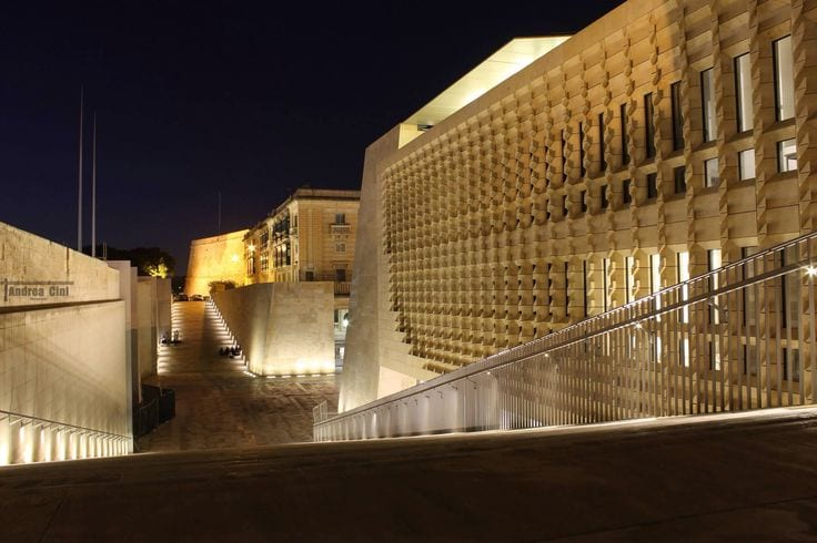 the-new-malta-parliament-at-the-entrance-to-capital-city-valletta