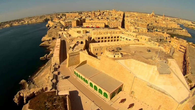-Part-of-historic-Fort-St-Elmo-in-Malta-leased-to-the-Knights-by-the-Maltese-Government