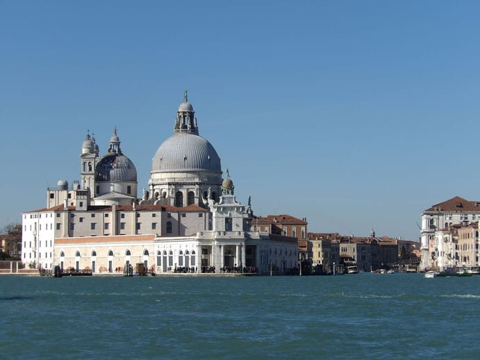 The entrance of Grand Canal