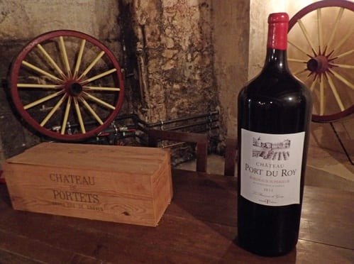 Chateau de Portets red wine