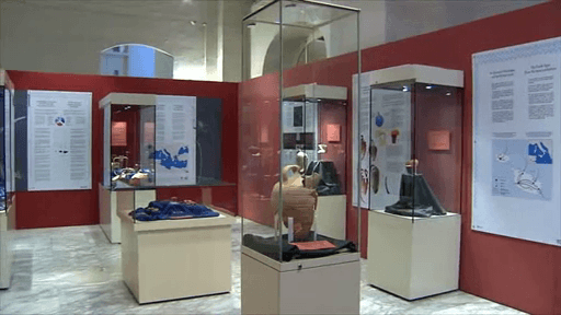 MalDia Items recovered off sea bottom on exhibit