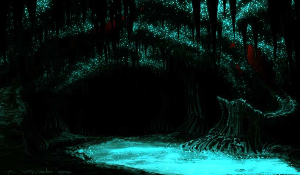 They are befitting of their title Glowworms