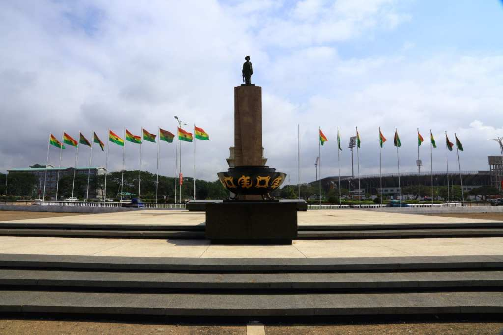 Monument to those who fell in the quest for liberation Accra