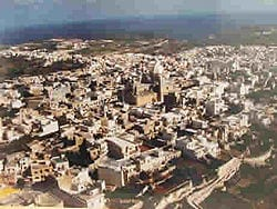 MalDia An aerial view of Nadur in Gozo