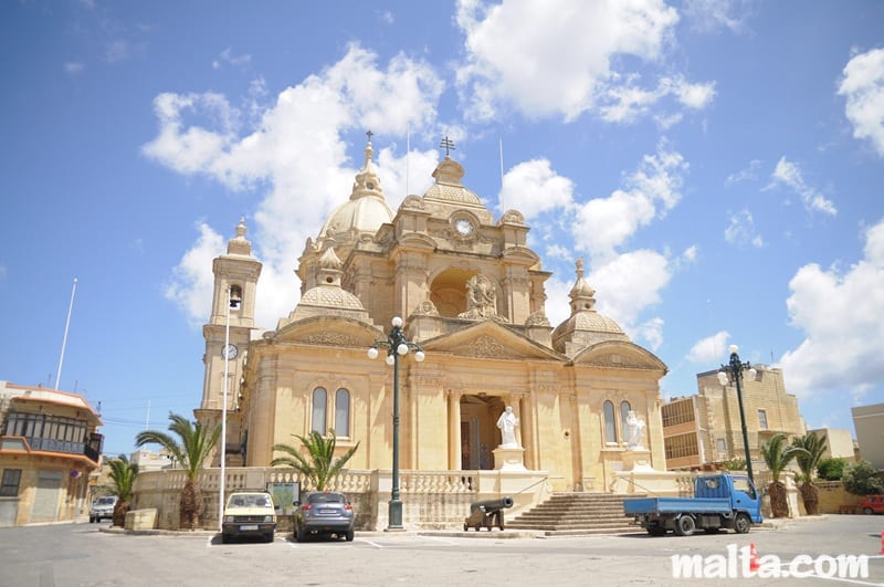 MalDia The church at Nadur dedicated to Saints Peter and Paul Did a mule choose the site