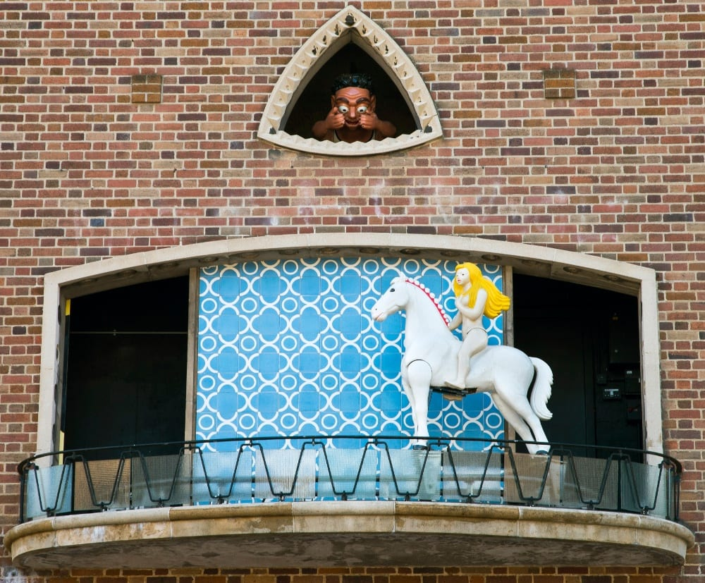 Pic The Broadgate clock with Peeping Tom peeping at Godiva every hour Photo by Rob Tysall