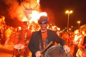 Bonfire facial disguise