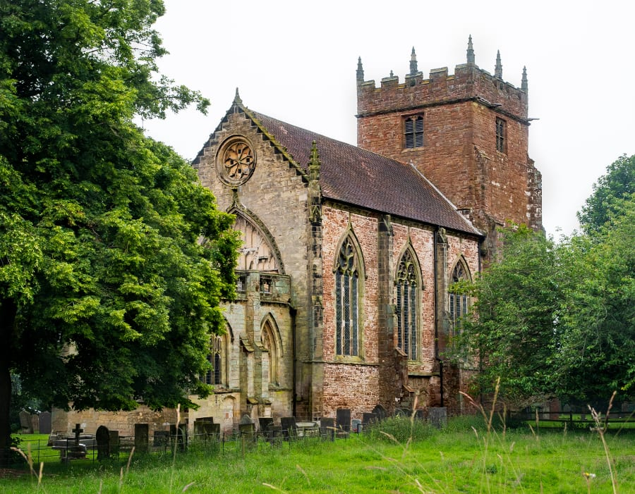Pic St Mary the Virgin Church at Astley Village Warwickshire