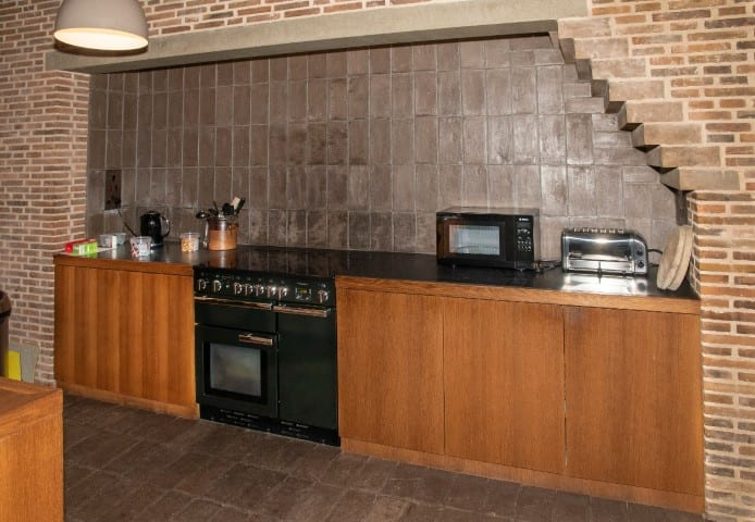 Pic The shared kitchen