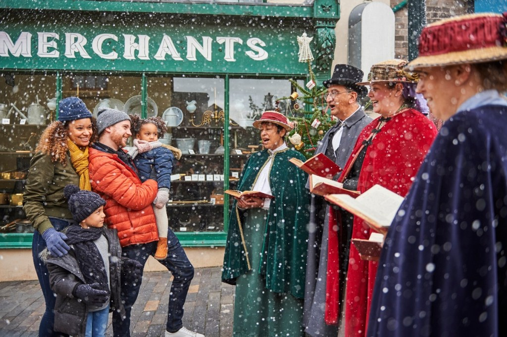 Blists Hill Victorian Town Christmas weekends December
