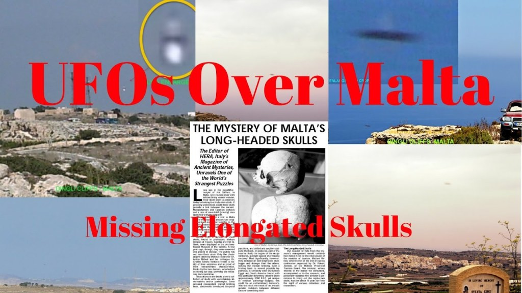 MalDia UFO sightings and elongated skulls
