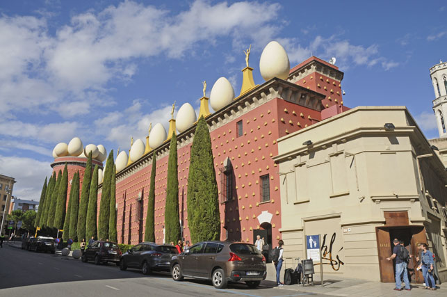 The Dalis Museum in Figueras