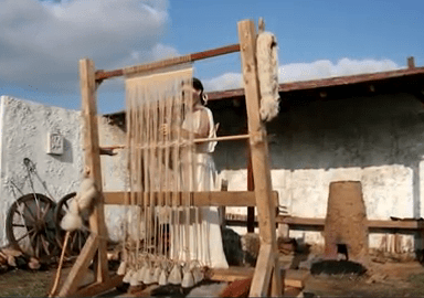 MalDia A loom used during the Middle Ages