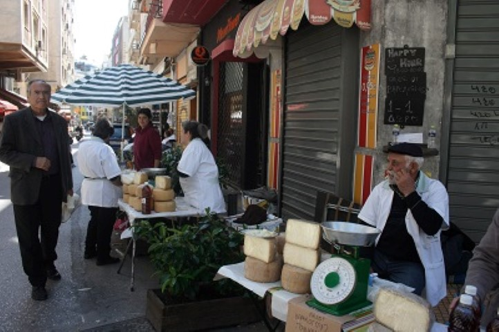 The Cheese Market in Athens is always worth a visit