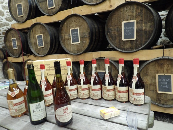 Time for tasting in a beautiful cellar