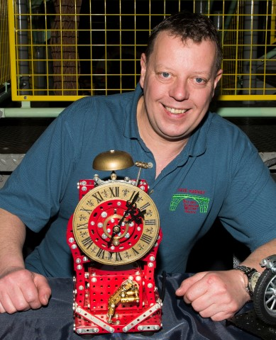 Pic Dave Harvey and his Impulse inching clock
