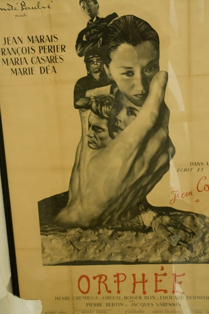 Poster of Orphée the renowned movie produced by Cocteau