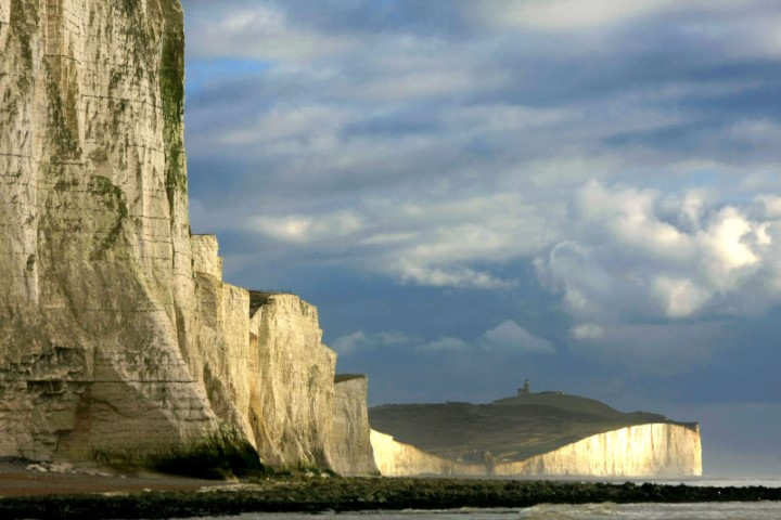 The dramatic Seven Sisters cliff range