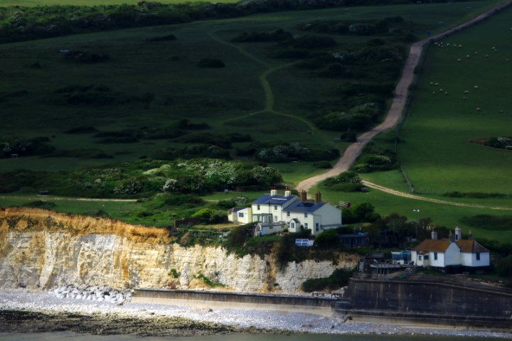 Life on a cliff edge Cuckmere Valley