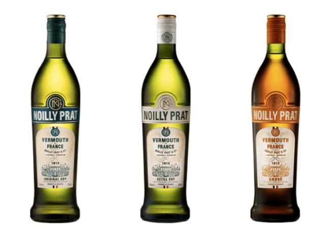 Noilly Prat range of spirits