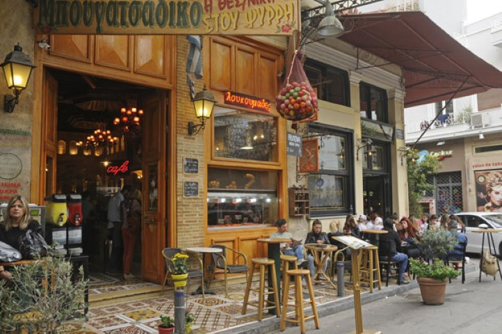 Plaka district a place to meander