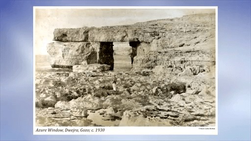 MalDia Gozos Azure Window pictured in Sadly it collapsed two years ago