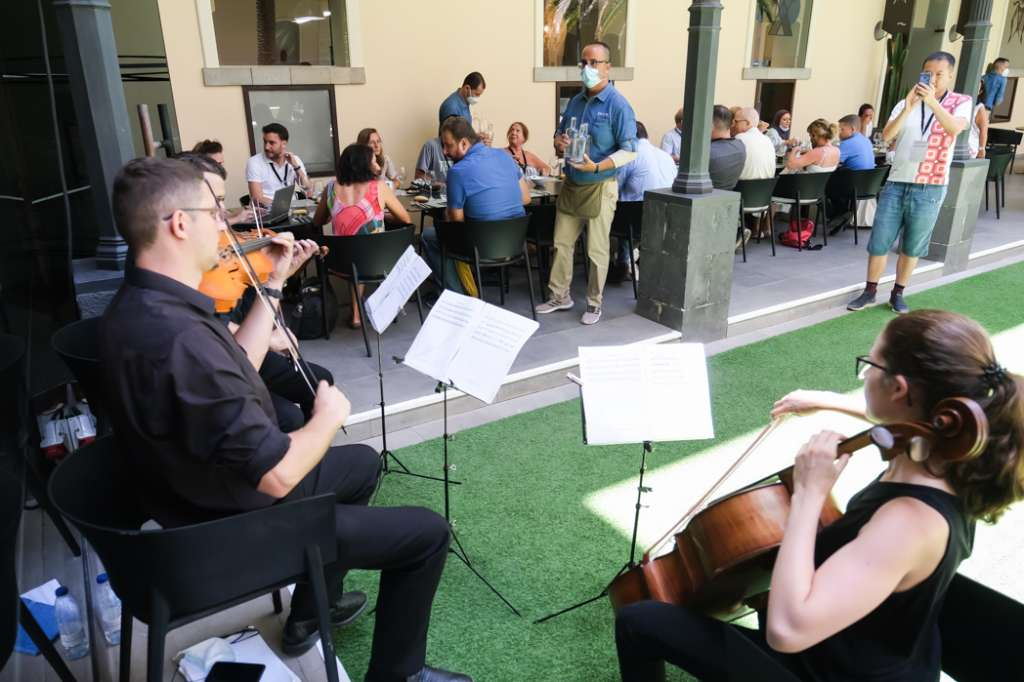Evidence that orchestra can bring peace and tranquility can be found during times of Covid