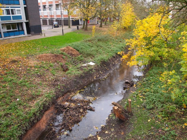Pic River Sherbourne in Spon End once the heart of the weaving trade Photo Anna Squires
