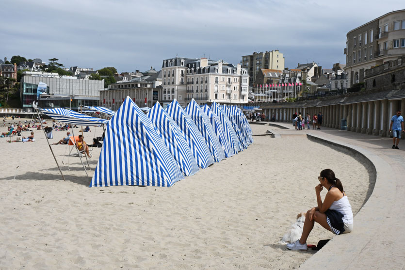 Good time in chic Dinard