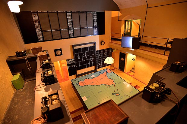 MalDia War rooms operational during WWII