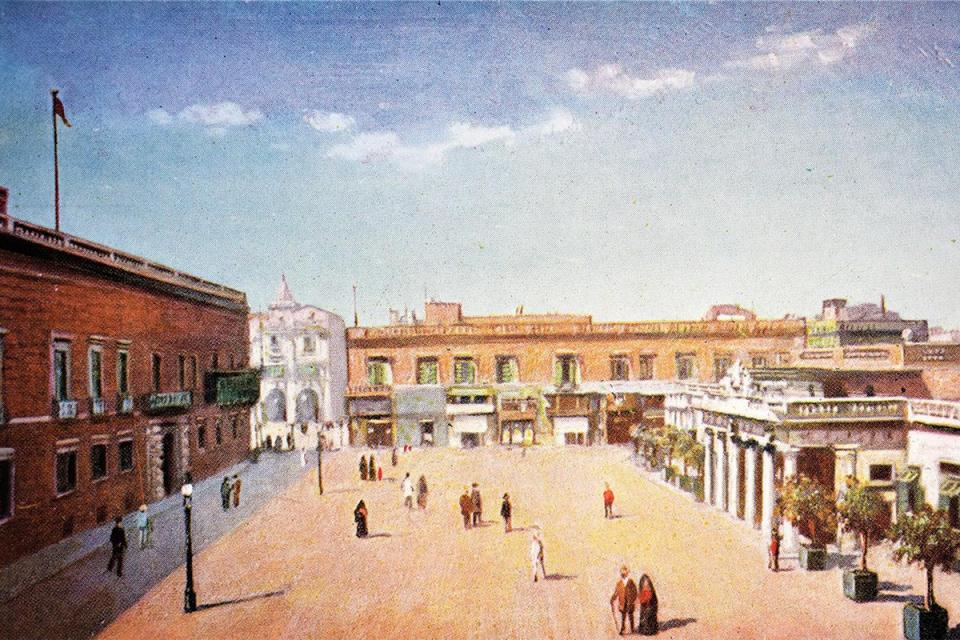 MalDia Formerly Palace Square with the Governor Generals Office on the left