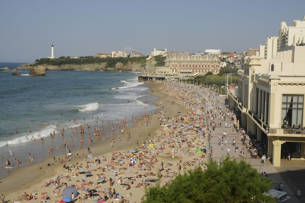 Biarritz-main-beach-