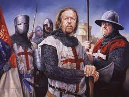 RICHARD I (The Lionheart) and a leading Crusader