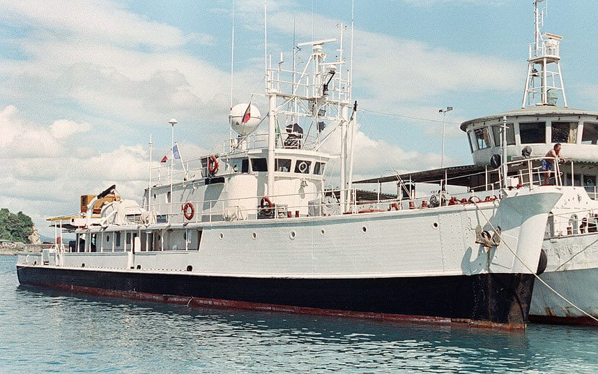 MalDia The MV Calypso in its prime named after the little island of Gozo