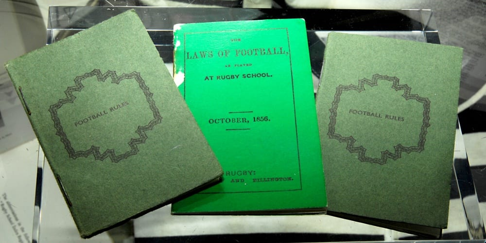 Pic Early rule books