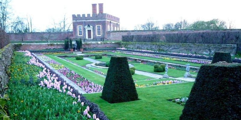 Pic Hampton Court Palace Gardens Pic courtesy of NGS