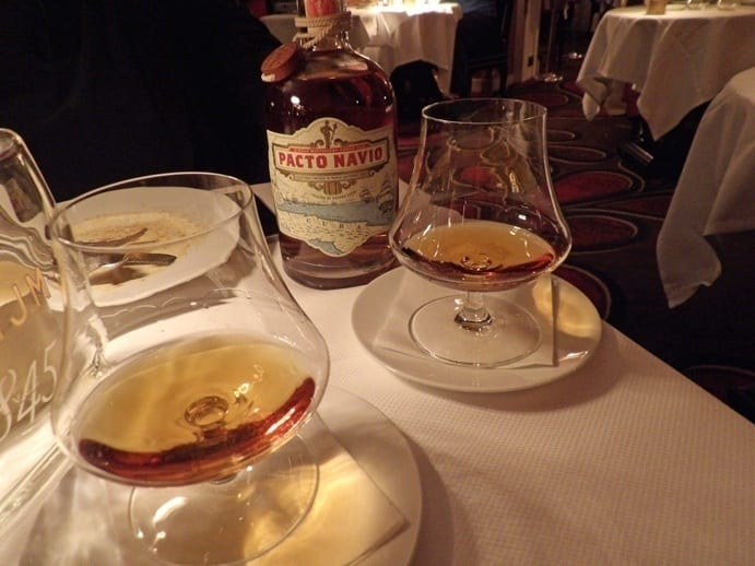 A glass of great old rhum to end