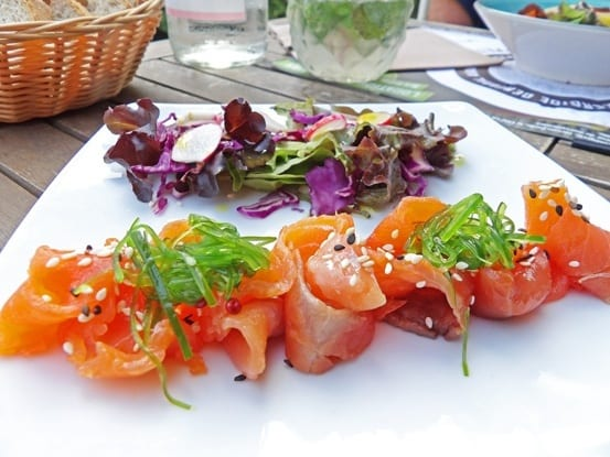 Tempting smoked trout