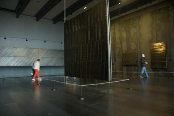 Outrenoir at Soulages museum
