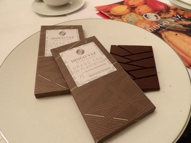 Grand Cru chocolate bars