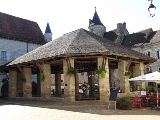 Martel old market square