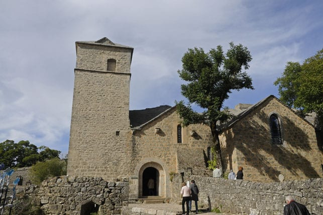 Medieval church of La Couvertoirade