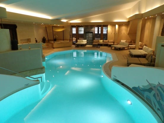 Amazing inside swimming pool at Parc Hotel