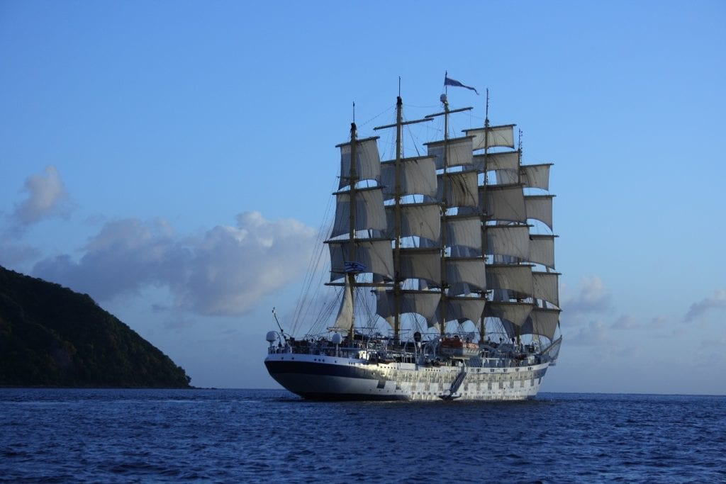 Royal Clipper Sunset Martinque