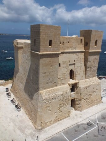 MalDia The first and oldest Wignacourt Tower built at St Pauls Bay in