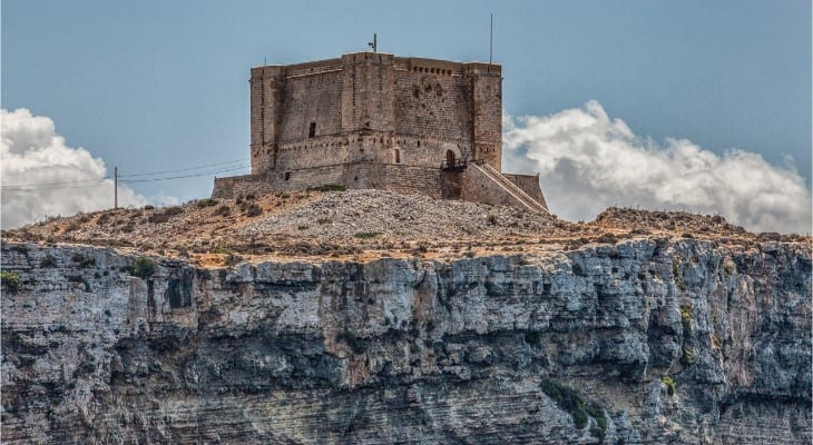 MalDia St Marys Tower on Comino