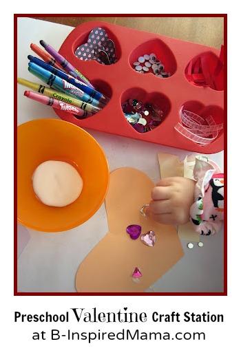 preschool valentine craft - Preschool Valentine Craft