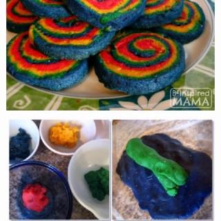 Kids in the Kitchen – Rainbow Swirl Sugar Cookies