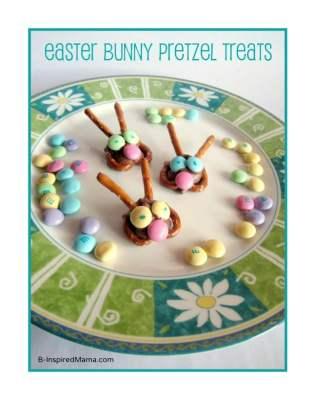 Easy Easter Bunny Treats at B-InspiredMama.com
