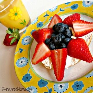 Berry Flower Mother's Day Breakfast